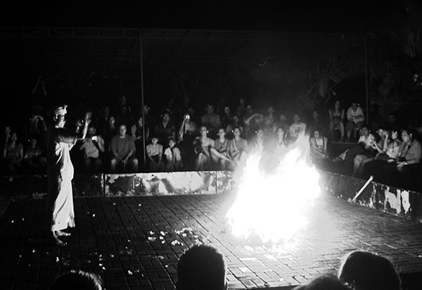 Genius Loci #3 by Jeremy Chin - Performance in Bali, Indonesia