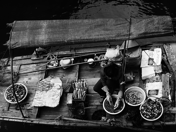 Genius Loci #44 by Jeremy Chin - Floating Market, Halong Bay, Vietnam
