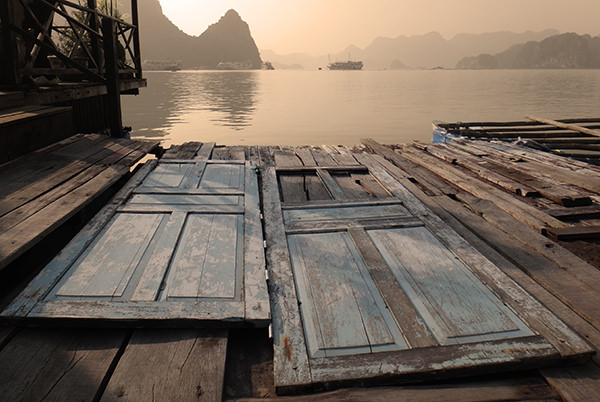 Genius Loci #46 by Jeremy Chin - Two Doors, Halong Bay, Vietnam