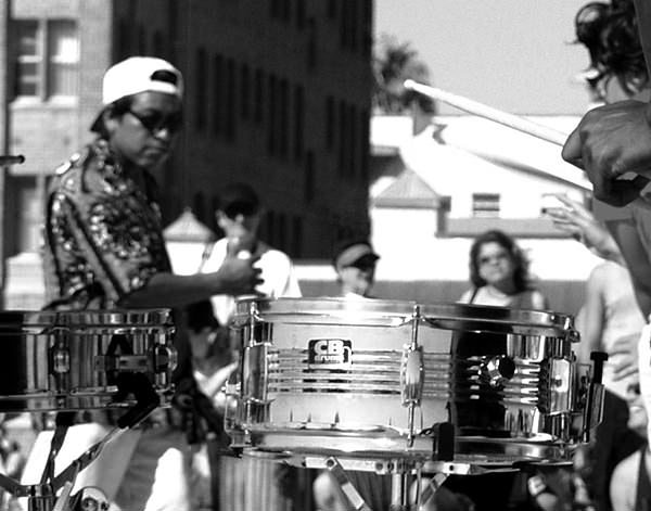 Genius Loci #70 by Jeremy Chin - Drum Circle at Venice Beach, California