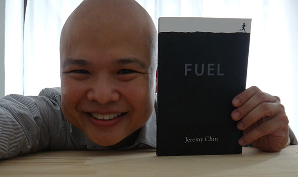 Just Jezza #11 by Jeremy Chin - Posing with a copy of Fuel