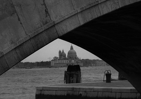 Lenscapes #30 by Jeremy Chin - View from under the Bridge, Venice, Italy